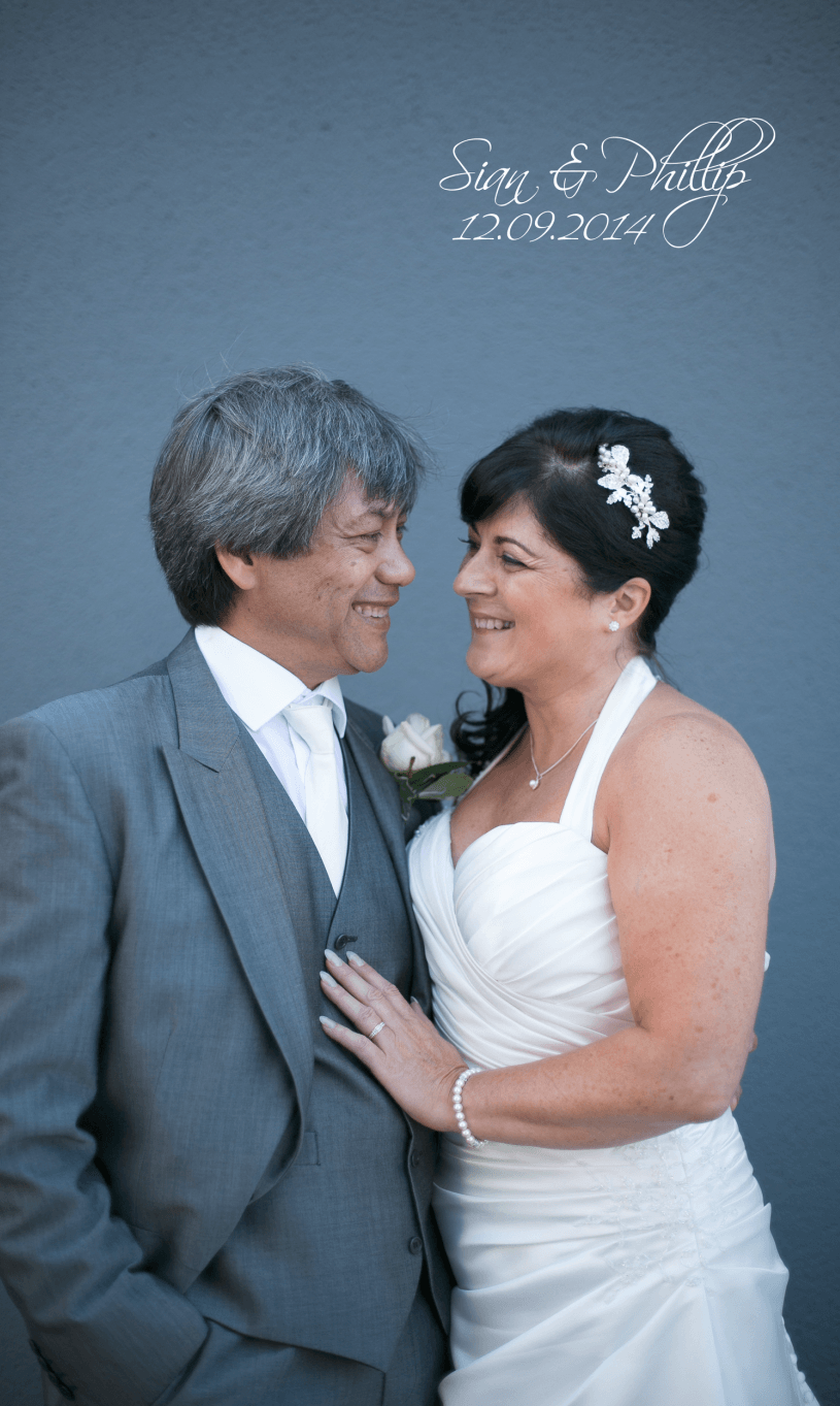 Sian & Phils wedding photography Swansea – Album slideshow (Morgans Hotel)